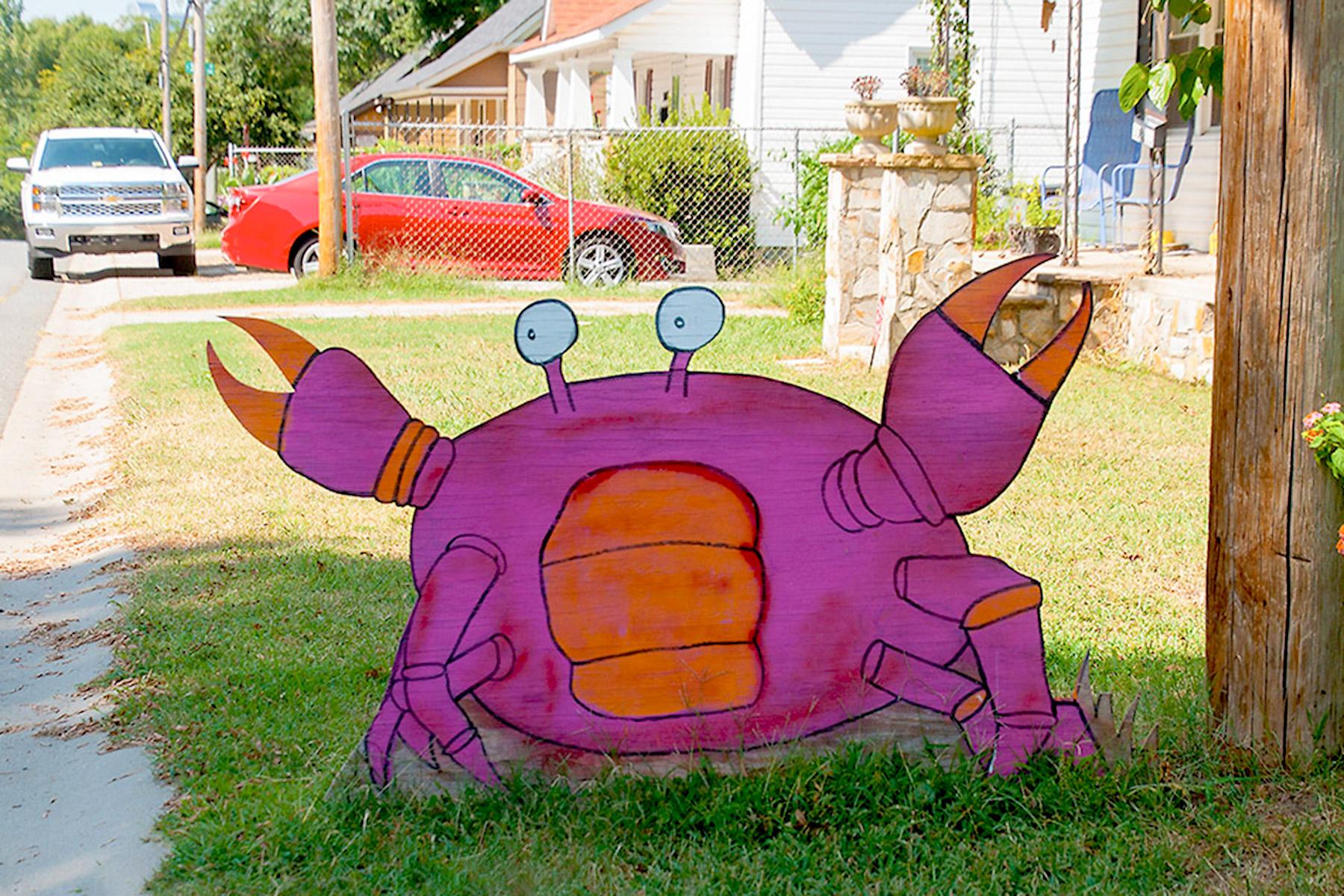 Yard Art Day Home
